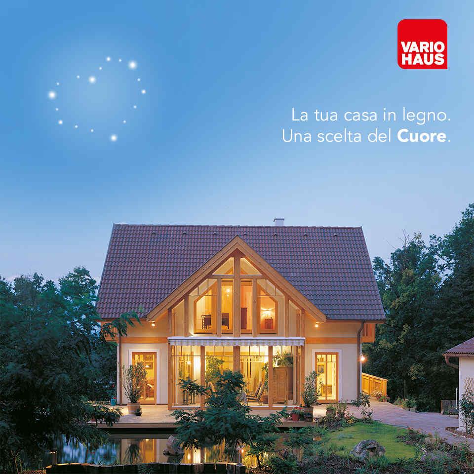 Costi Per Costruire Casa casa passiva in legno: con vario haus la tua casa dei sogni
