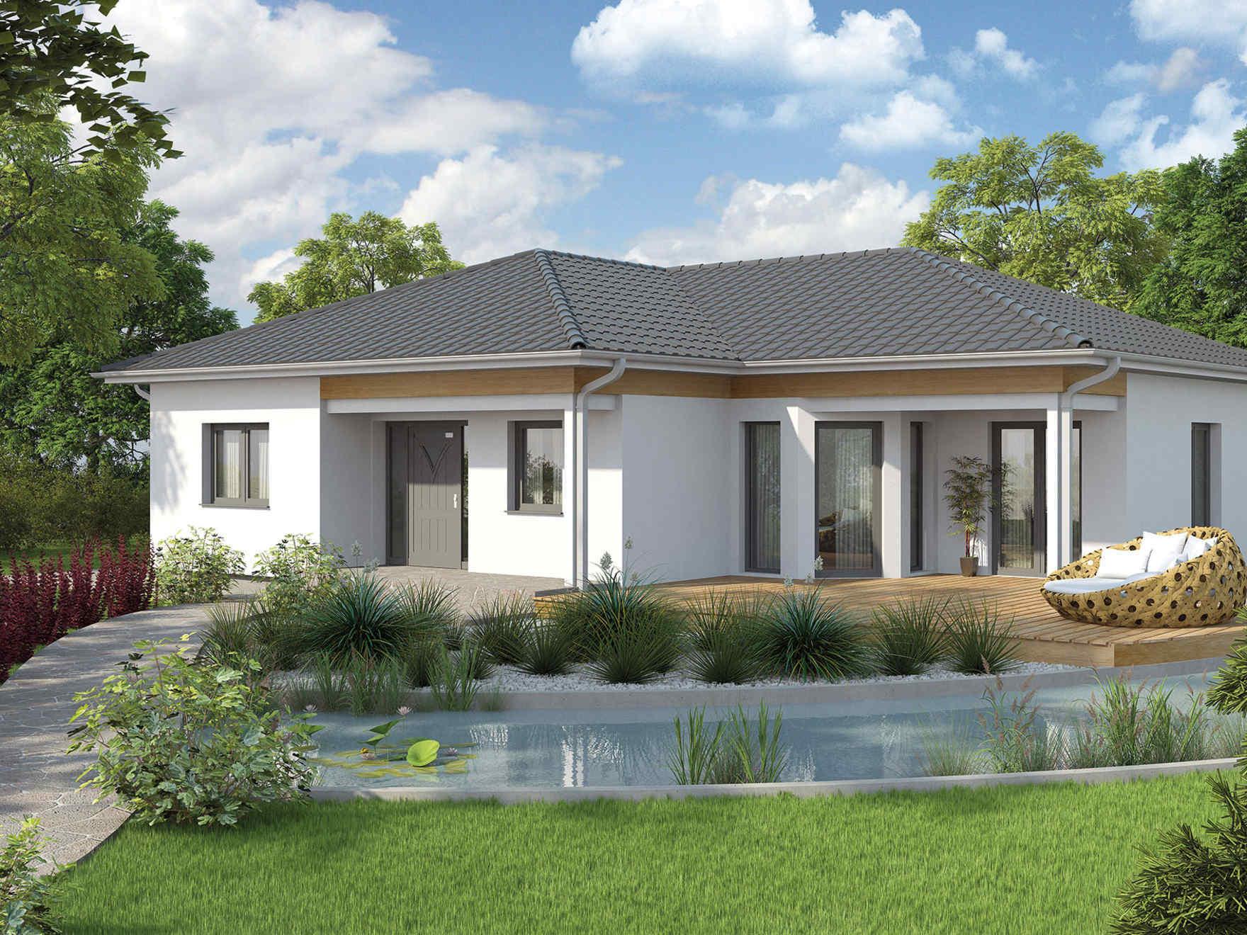 Case Moderne Ad Un Piano : Casa in legno ad un solo piano scopri le case bungalow di vario