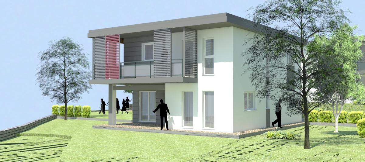 Progetto krippler a merano maia alta vario haus case for Costo per costruire un garage a 2 piani