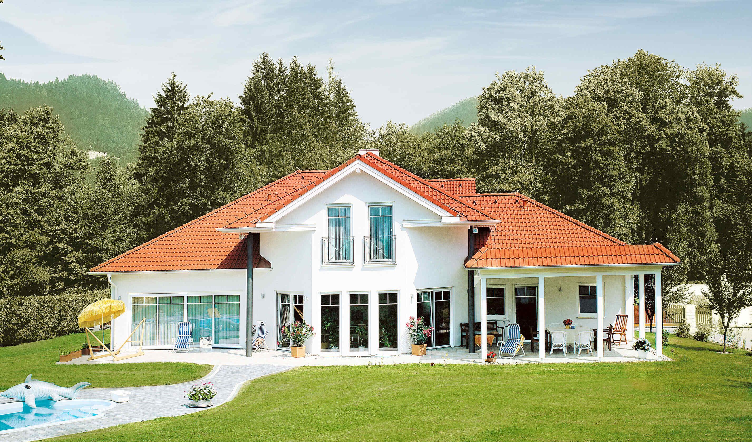 Dachform fassade individuell geplant vario haus for Piani casa bungalow bassa campagna