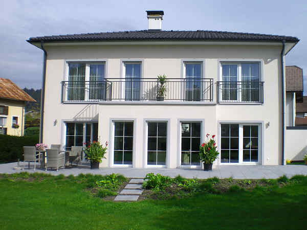 casa prefabbricata in legno Familie Zanier