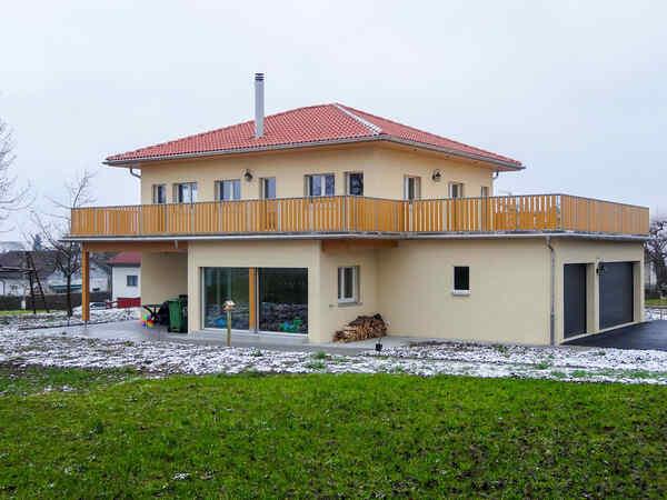 casa prefabbricata in legno Familie Böckli