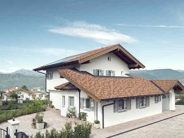 casa prefabbricata in legno famiglia Dusini