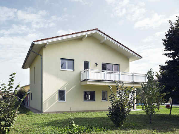 casa prefabbricata in legno famiglia Deidonè