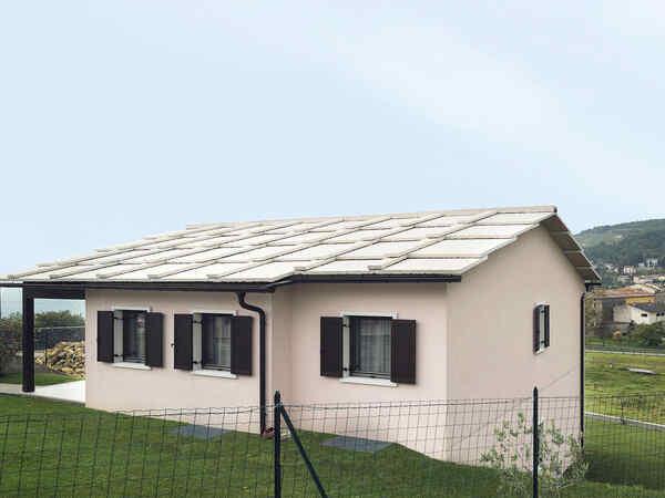 casa prefabbricata in legno famiglia Bianchi