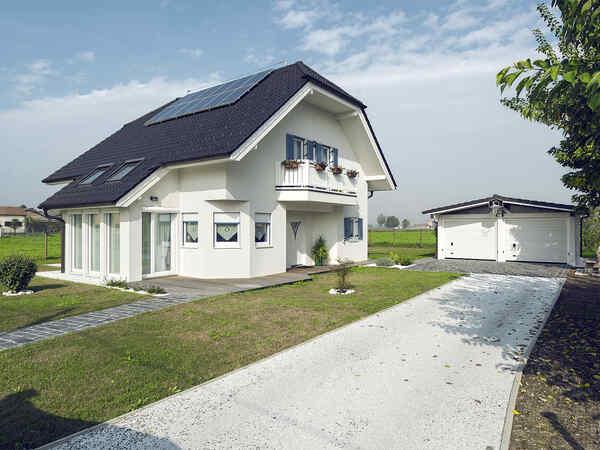casa prefabbricata in legno famiglia Fiore