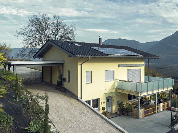 Prefabricated house Familie Pomella