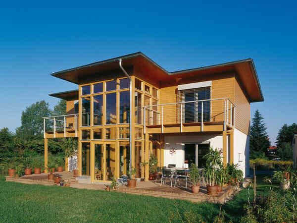 casa prefabbricata in legno Familie Tlohy