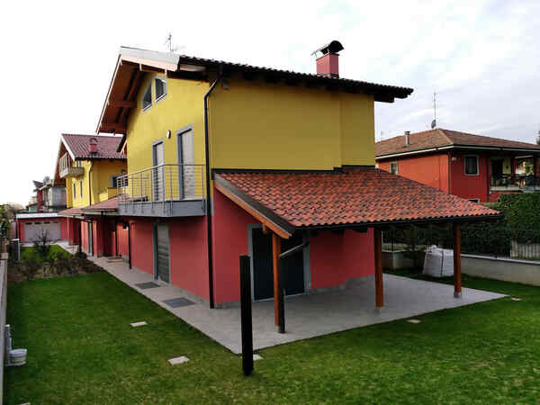 Maison préfabriquée famiglia Bighè e Arnoldi