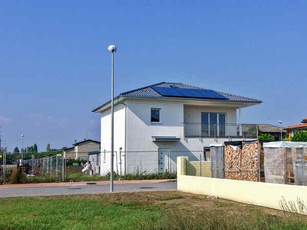 Prefabricated house famiglia Basili