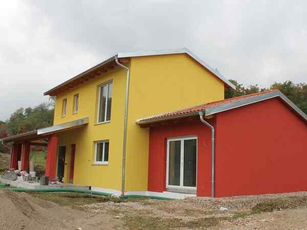 casa prefabbricata in legno famiglia Da Broi