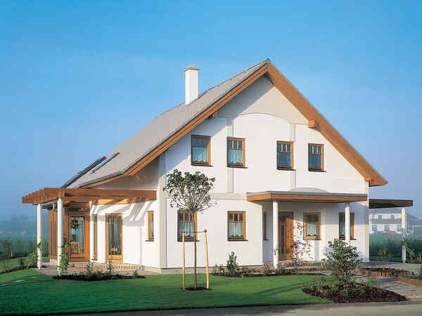 casa prefabbricata in legno Familie Brugger