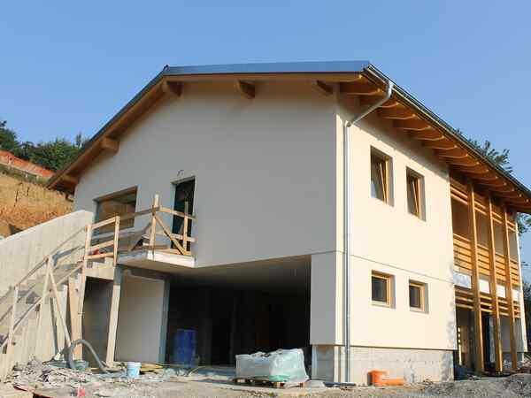 casa prefabbricata in legno famiglia Gallizioli