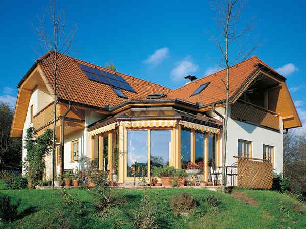 casa prefabbricata in legno Familie Kadensky