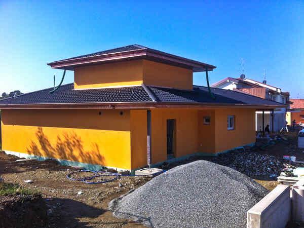 casa prefabbricata in legno famiglia Ratti