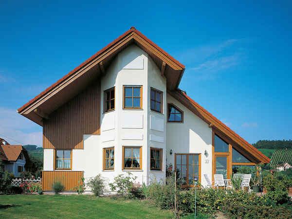casa prefabbricata in legno Familie Haller