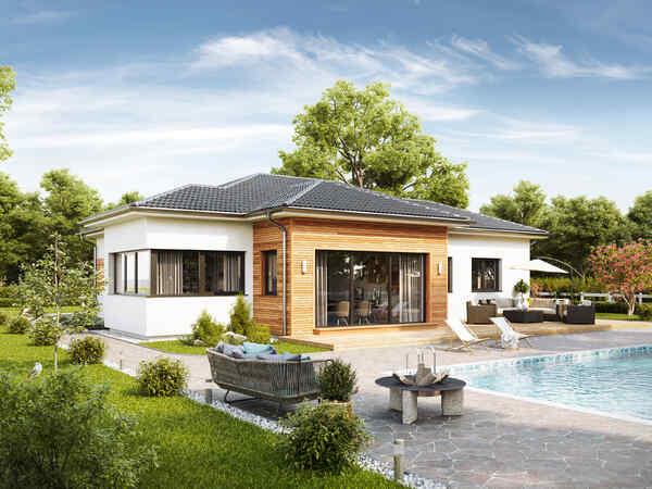 Maison préfabriquée Musterhaus Bungalow S141