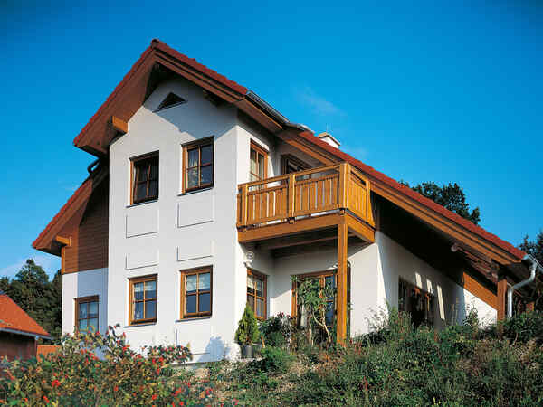 casa prefabbricata in legno Familie Pintsuk