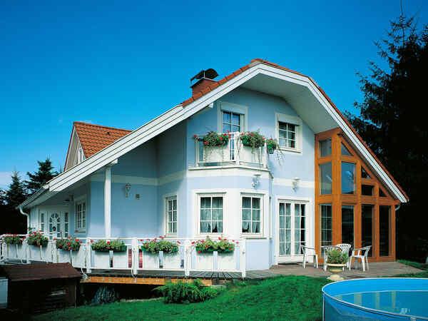 casa prefabbricata in legno Familie Ramberger