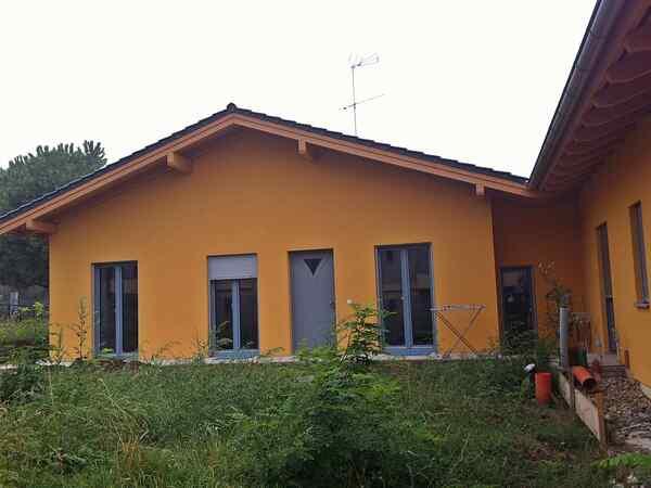 casa prefabbricata in legno famiglia Villa Maria Rosa