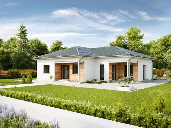 Prefabricated house Bungalow WE136