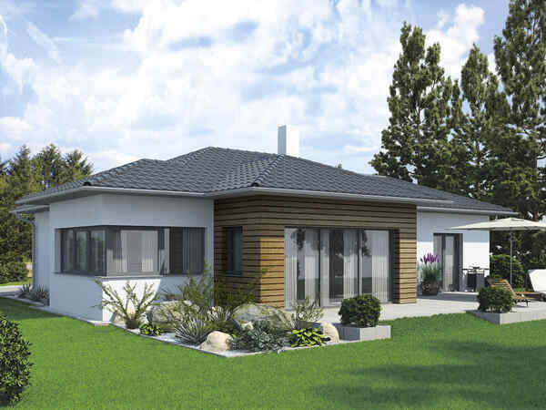 Prefabricated house Bungalow S141 2 appartements