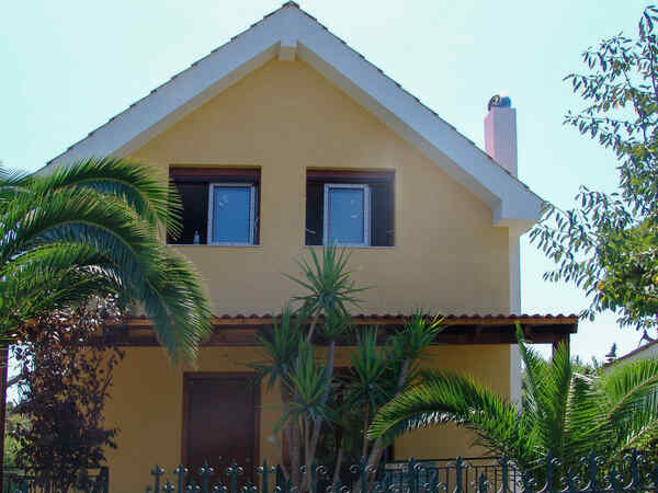 casa prefabbricata in legno Familie Korakis