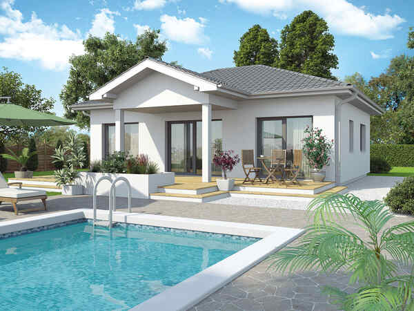Prefabricated house Bungalow New Design V Small
