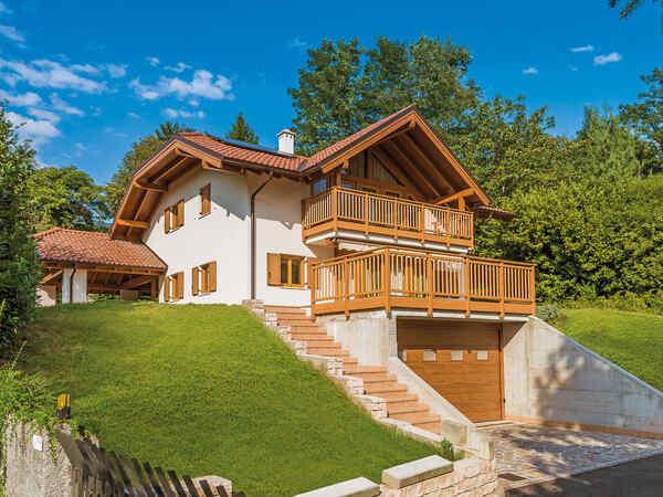 casa prefabbricata in legno famiglia Dallabrida