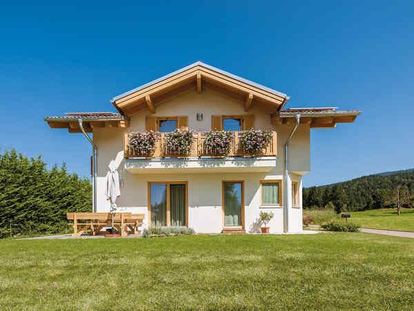 casa prefabbricata in legno famiglia Marchio