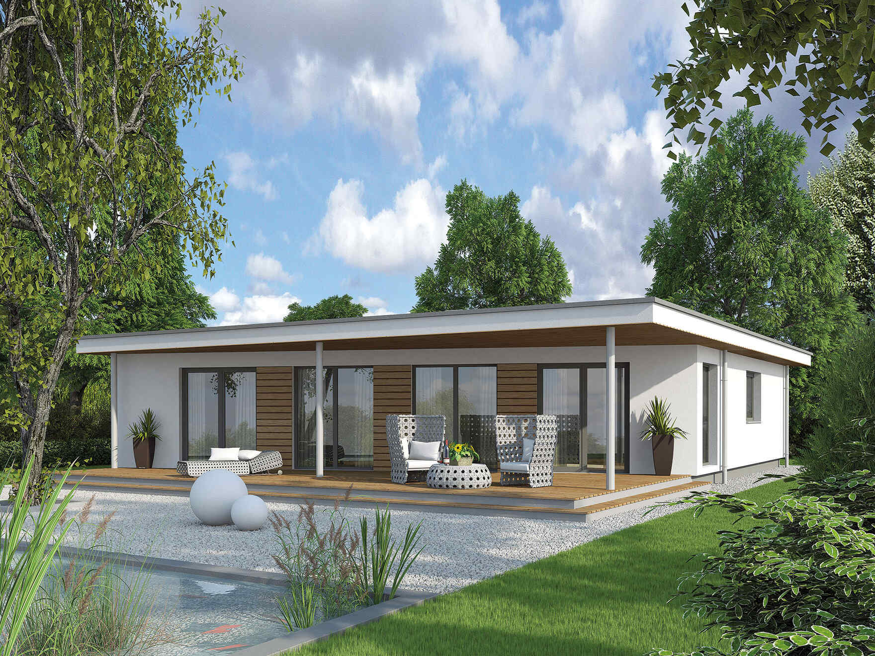 Bungalow We 136 Vario Haus Prefabricated Houses