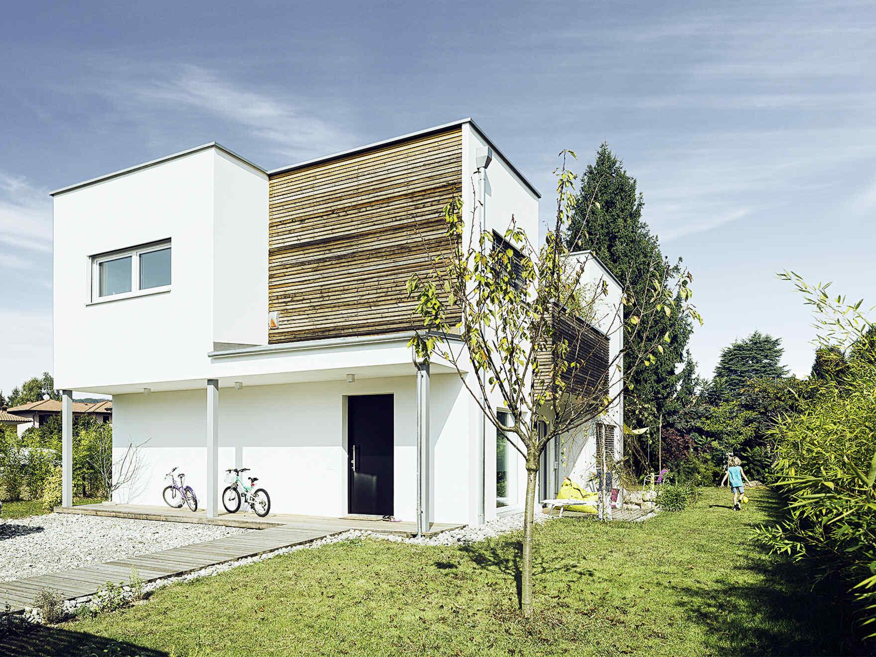 casa prefabbricata in legno famiglia Peracca