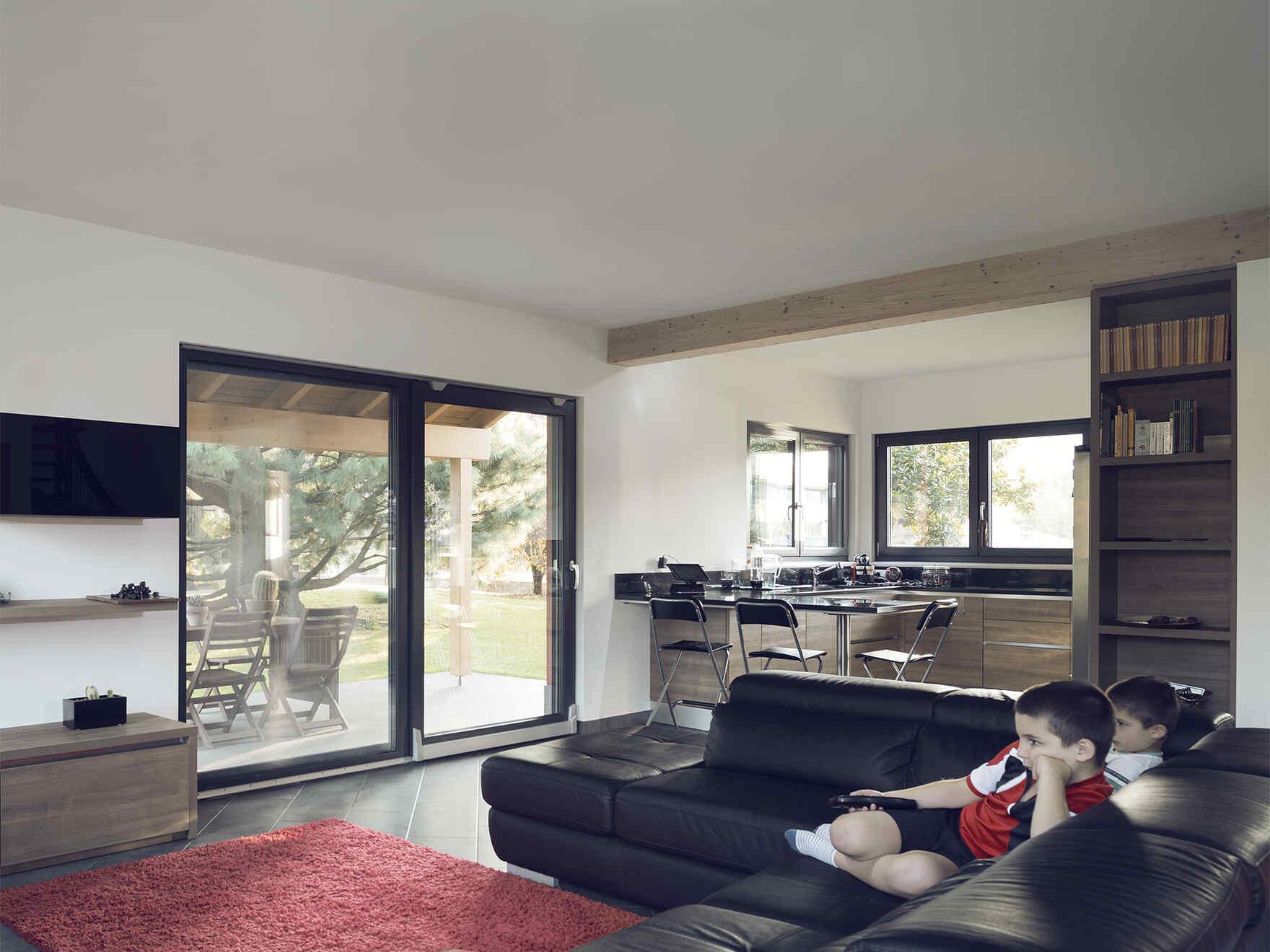 Prefabricated house famiglia Trabacchin