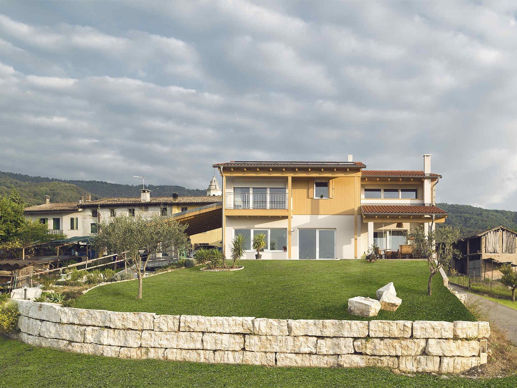 Prefabricated house famiglia Sartor