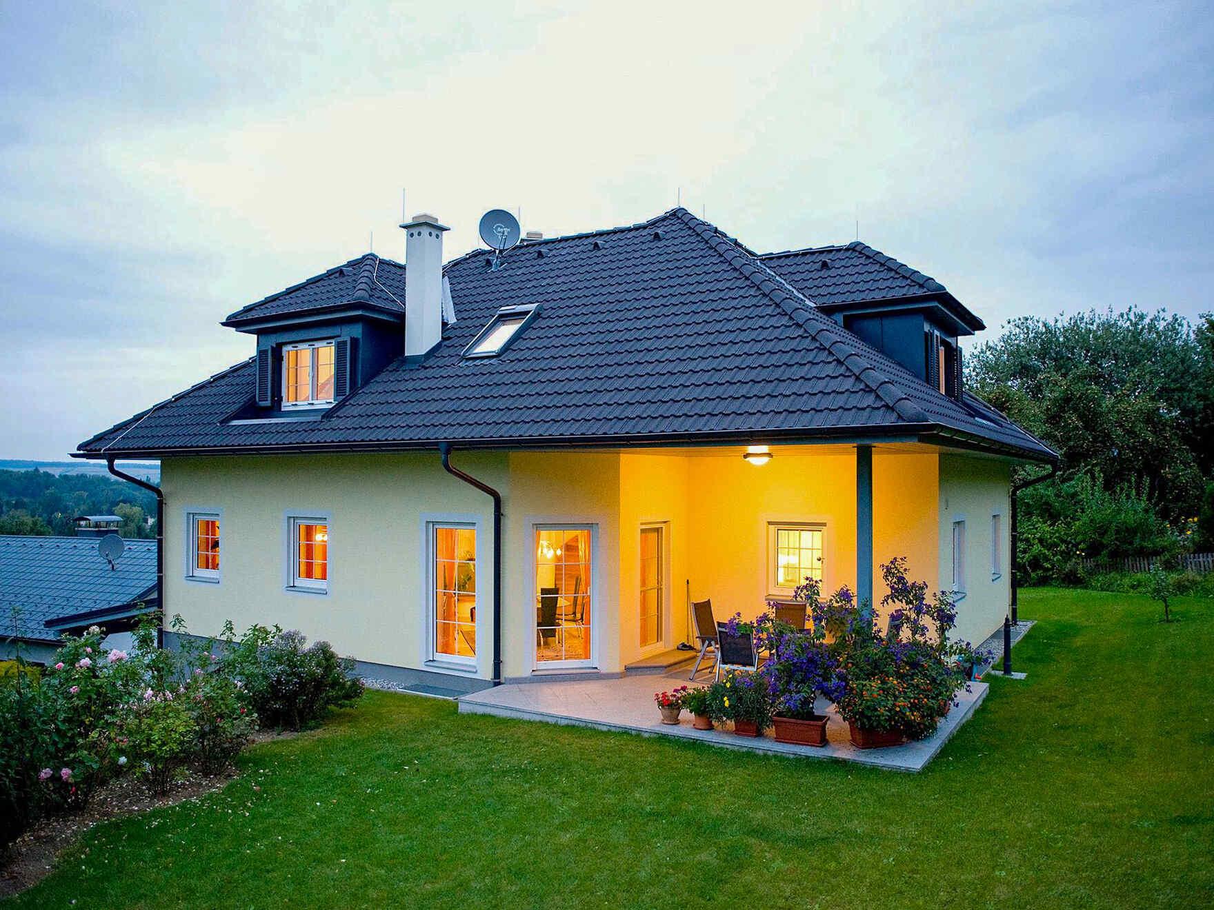 casa prefabbricata in legno Familie Luger