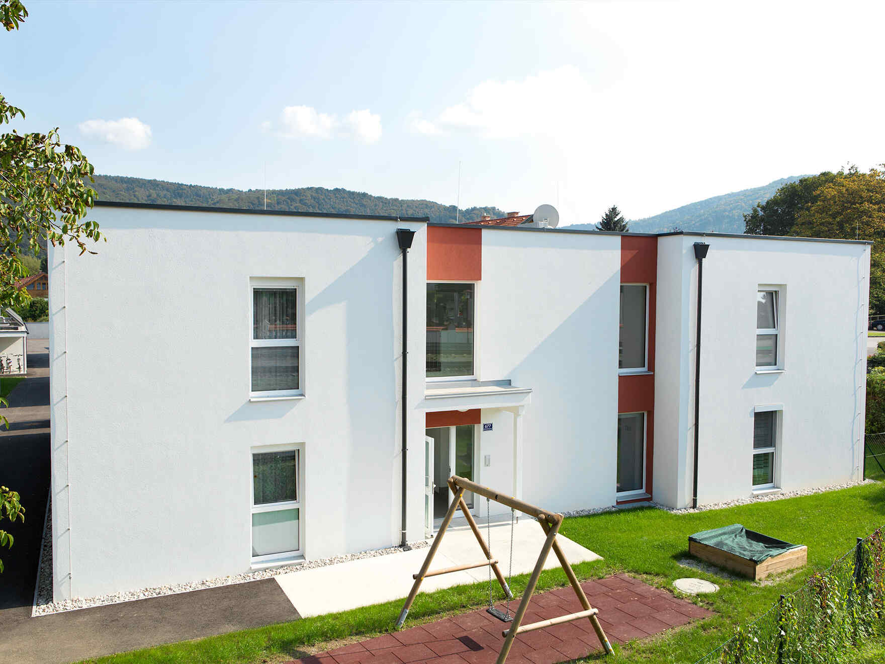 Maison préfabriquée Wohnanlage mit 10 Einheiten