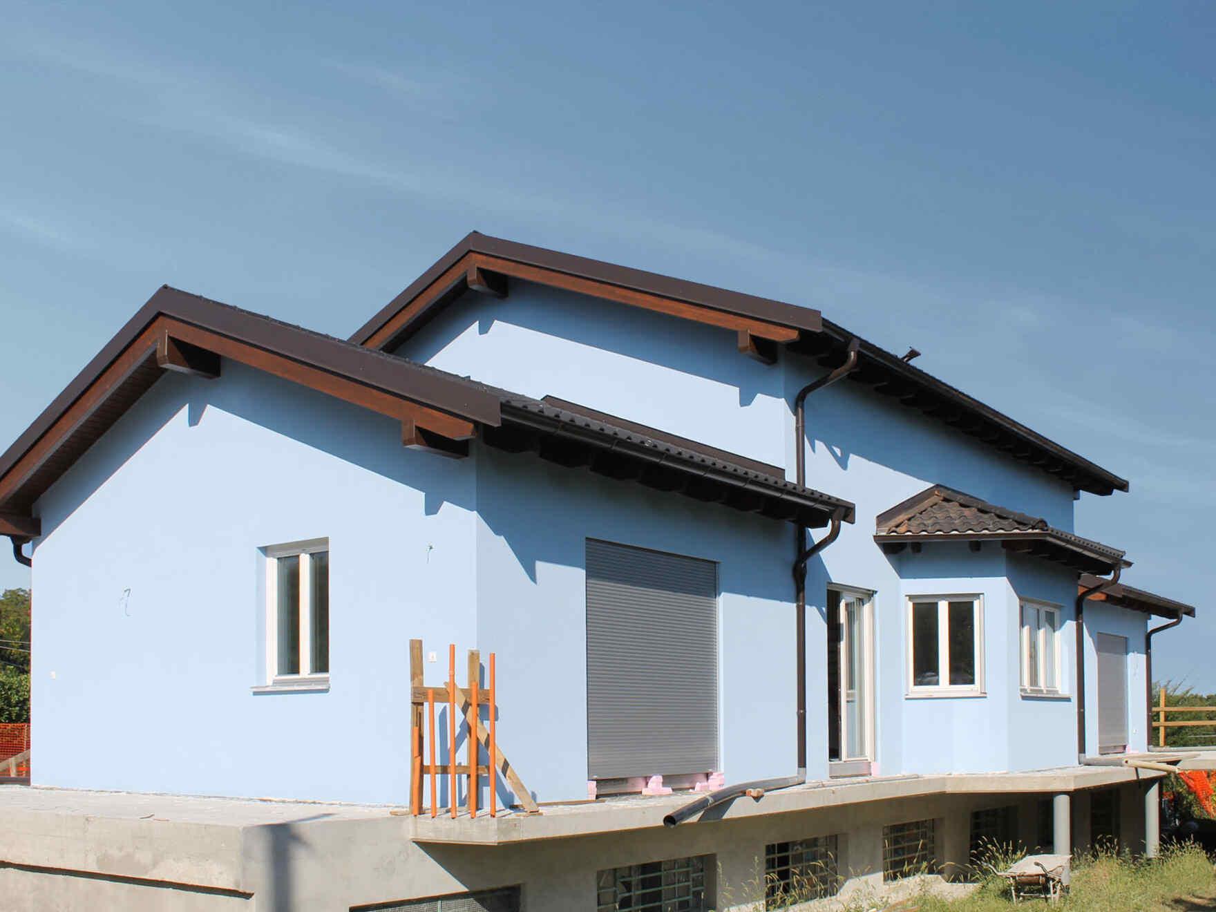 Prefabricated house Famiglia Monti