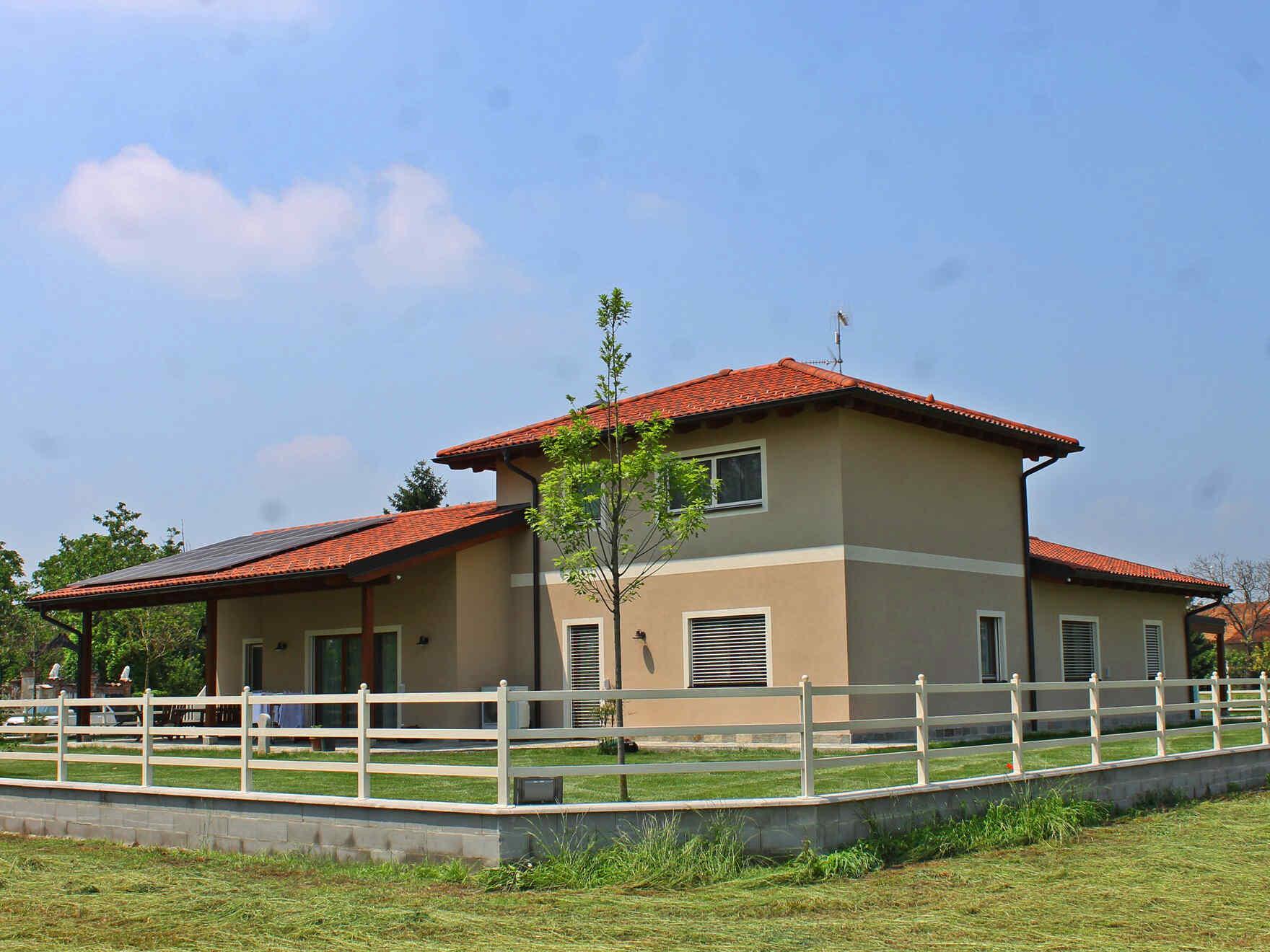 casa prefabbricata in legno famiglia Brocca