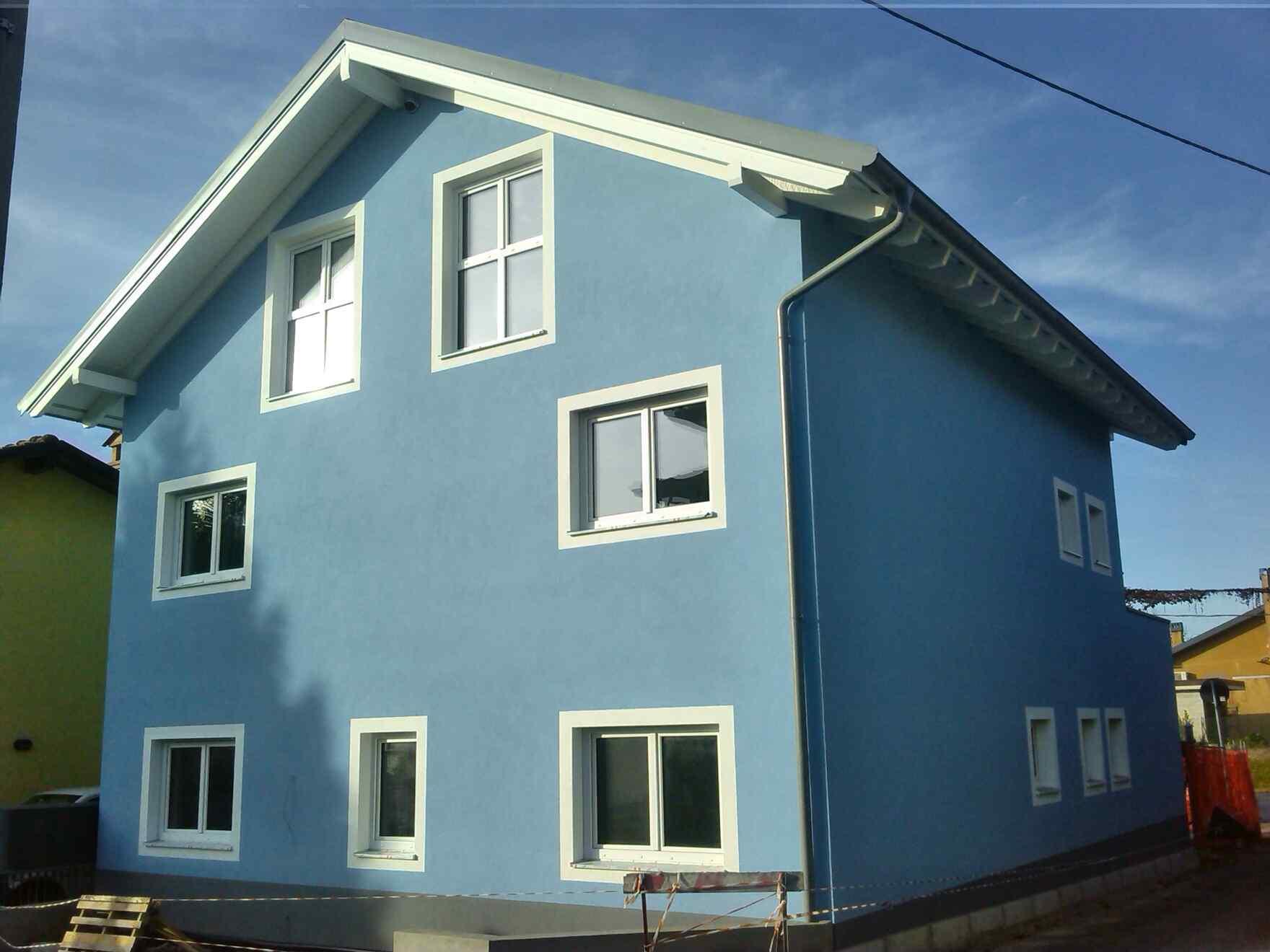 Prefabricated house famiglia Chinaglia