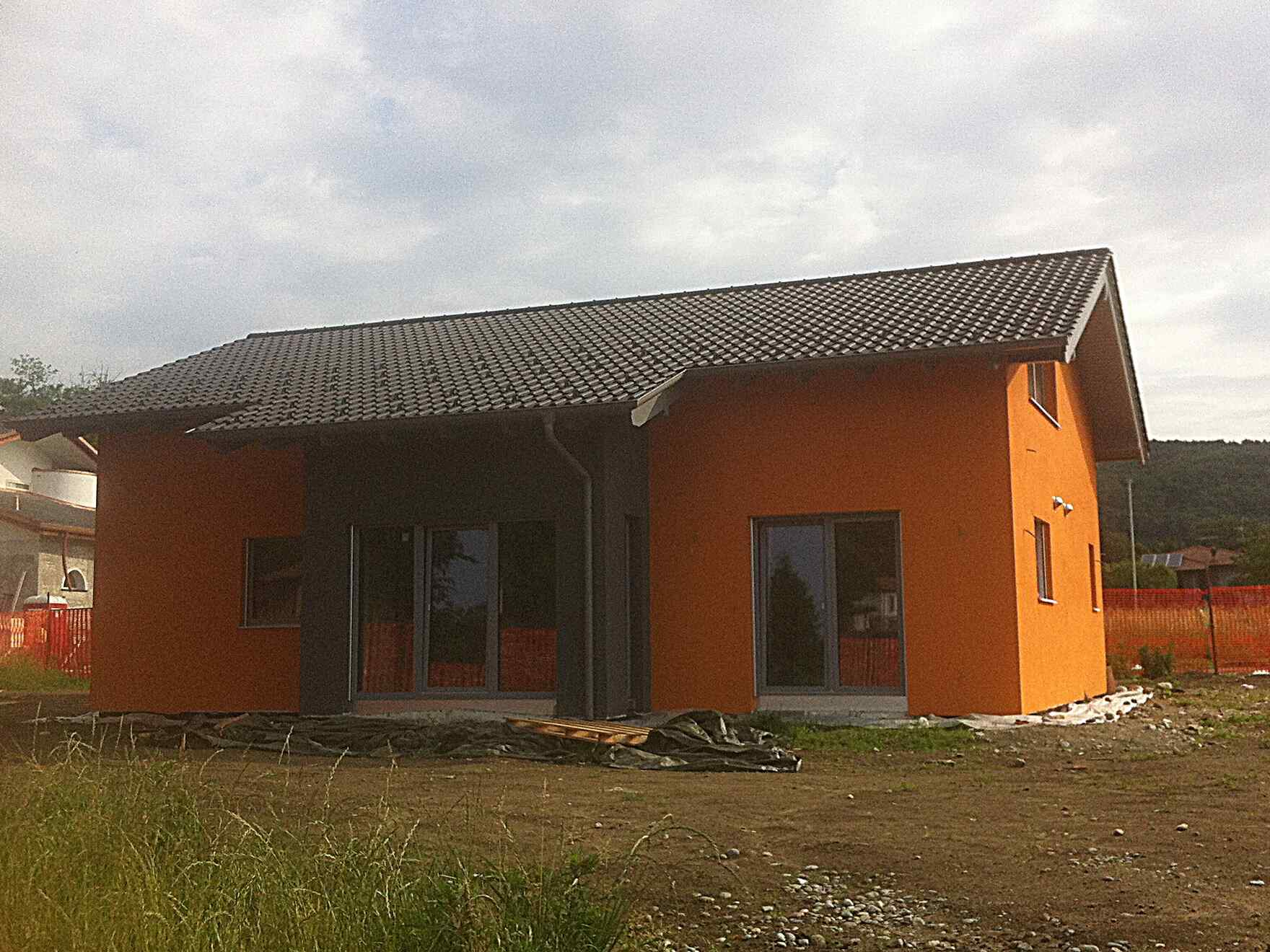 casa prefabbricata in legno famiglia Clerici
