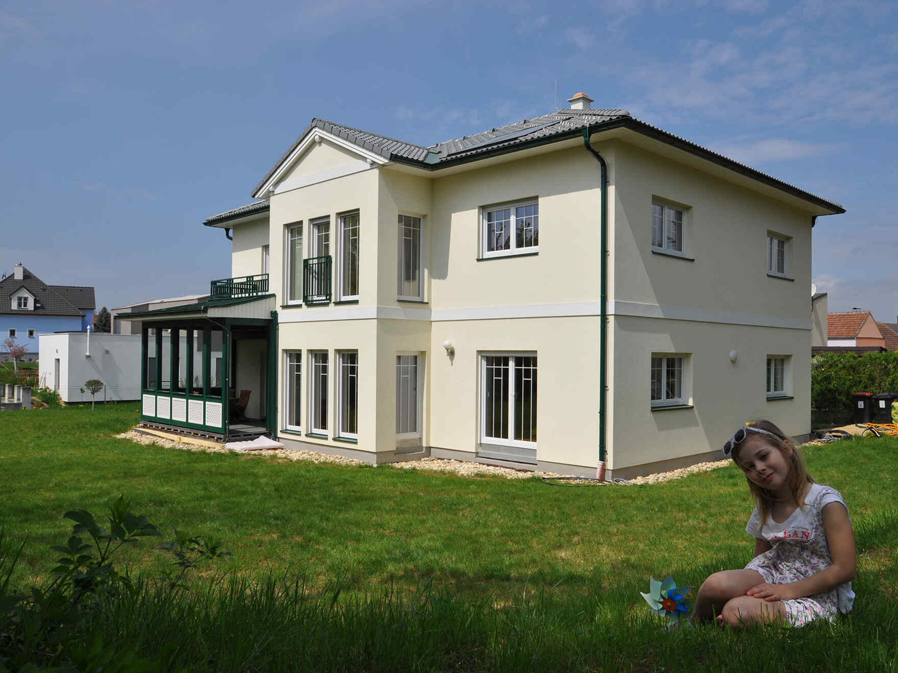 Prefabricated house Familie Fichtinger