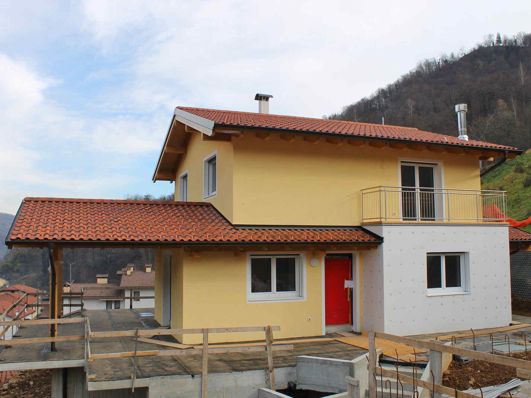 Prefabricated house famiglia Dalle Rive
