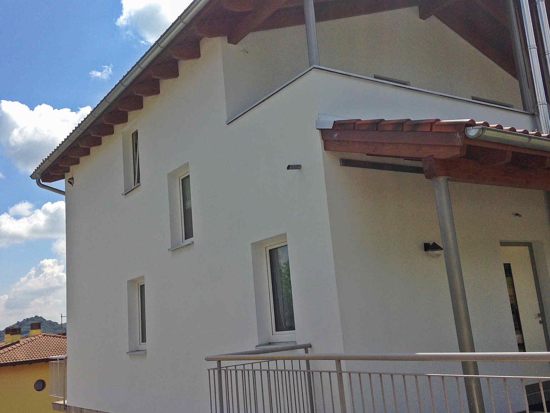 casa prefabbricata in legno famiglia Dani