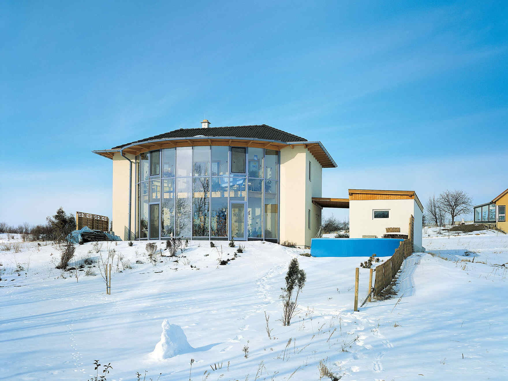 Prefabricated house Familie Winter