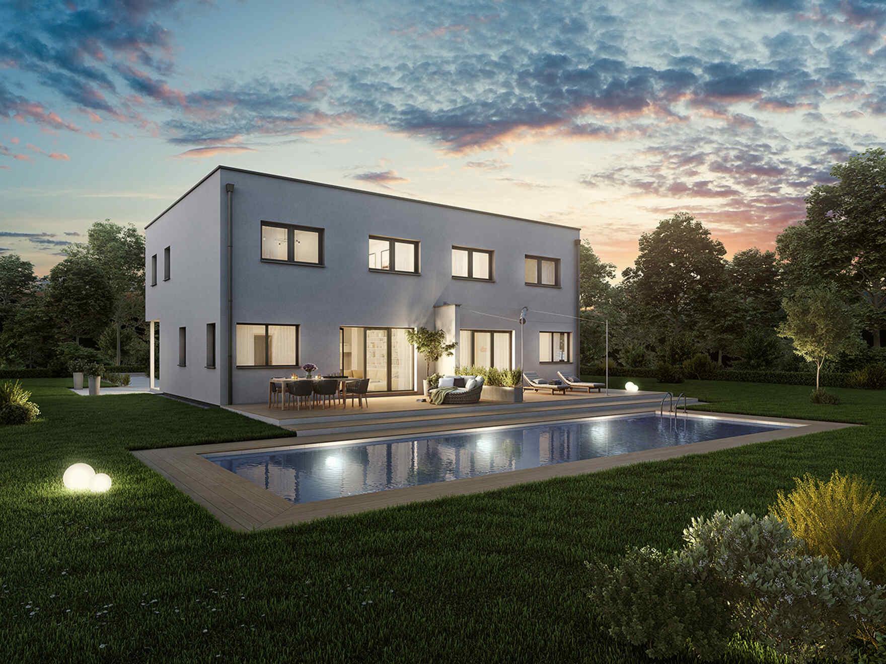Maison préfabriquée Duplex D113 S