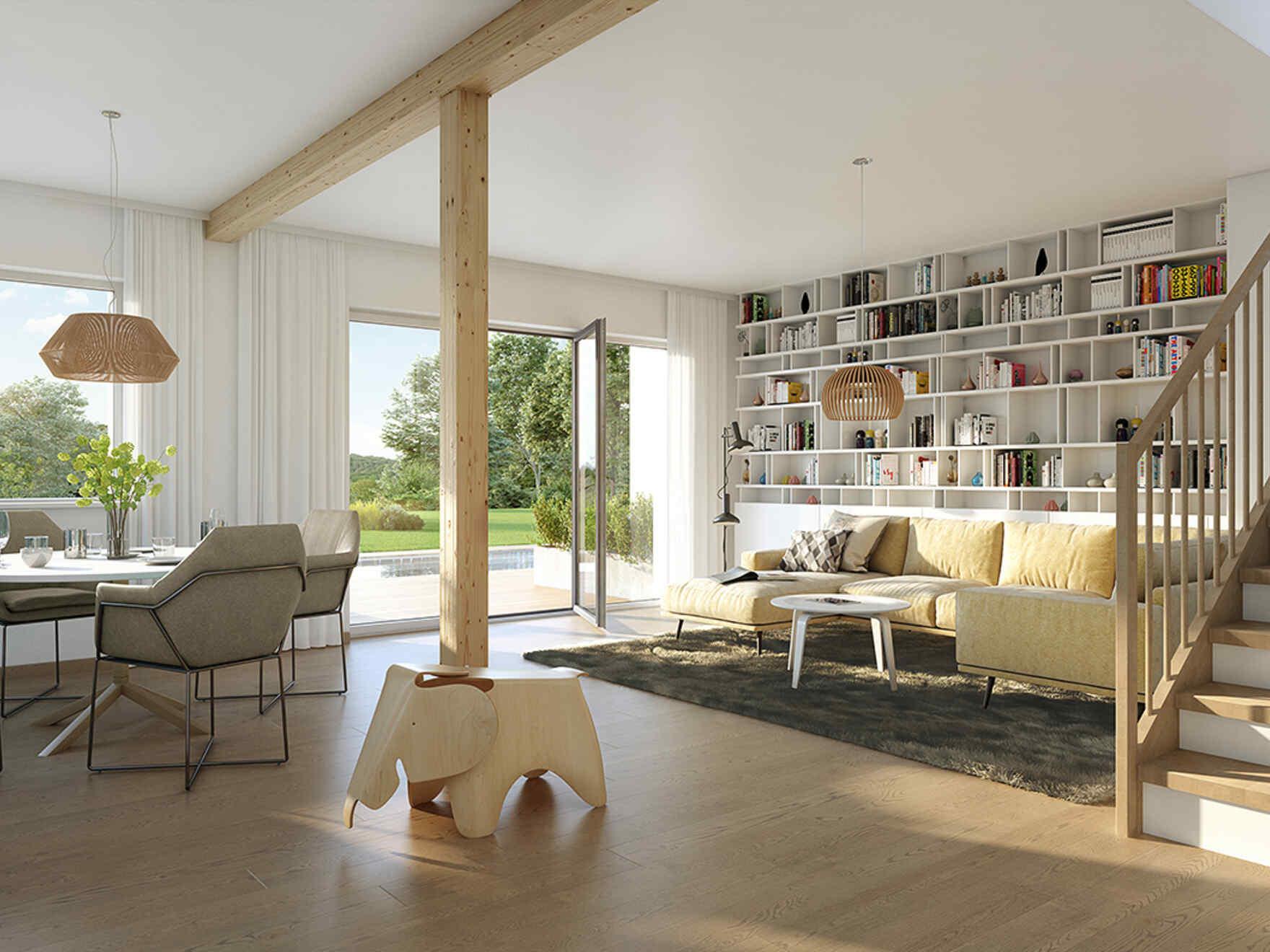 VARIO-HAUS Fertighaus Doppelhaus Duplex D113 XL | VARIO-HAUS ...