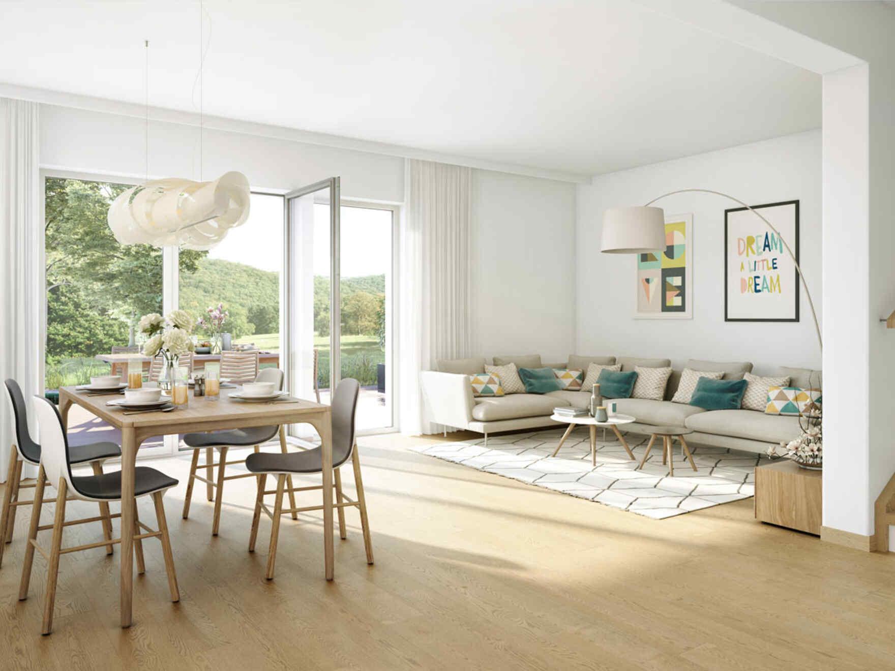 VARIO-HAUS Fertighaus Doppelhaus Duplex D97 | VARIO-HAUS ...