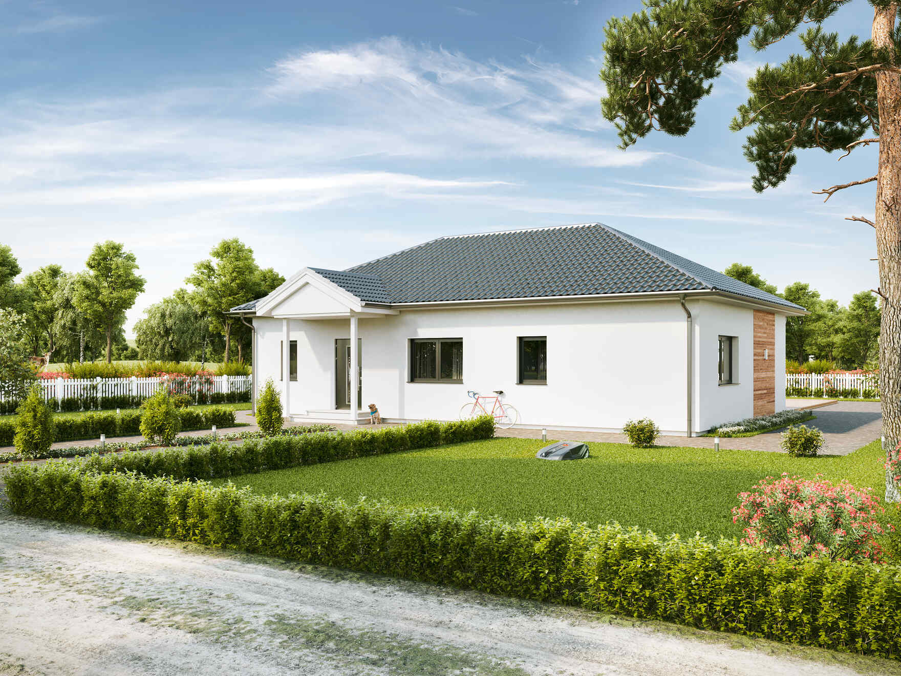 Prefabricated house Bungalow Compact