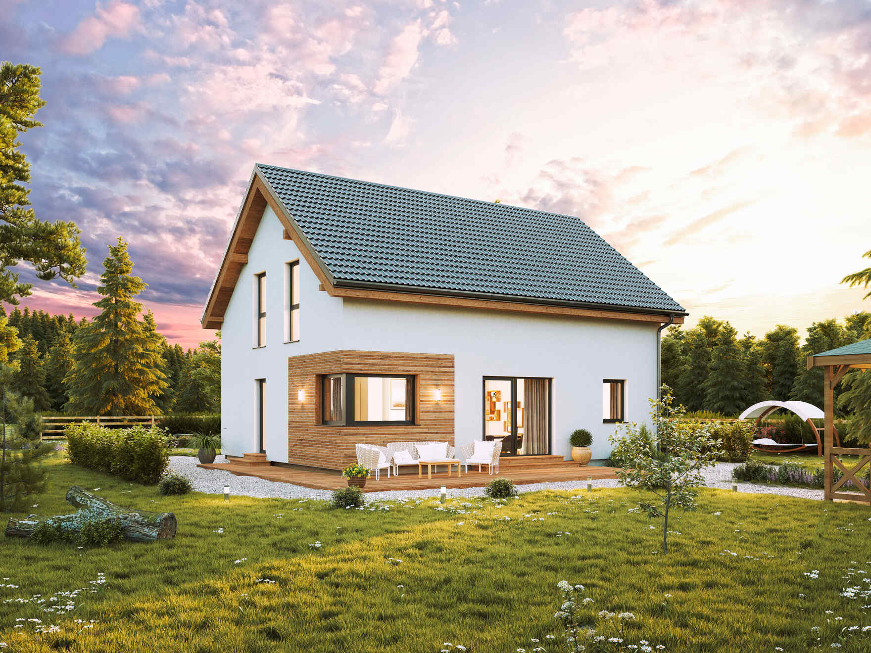 Prefabricated house Family Classic