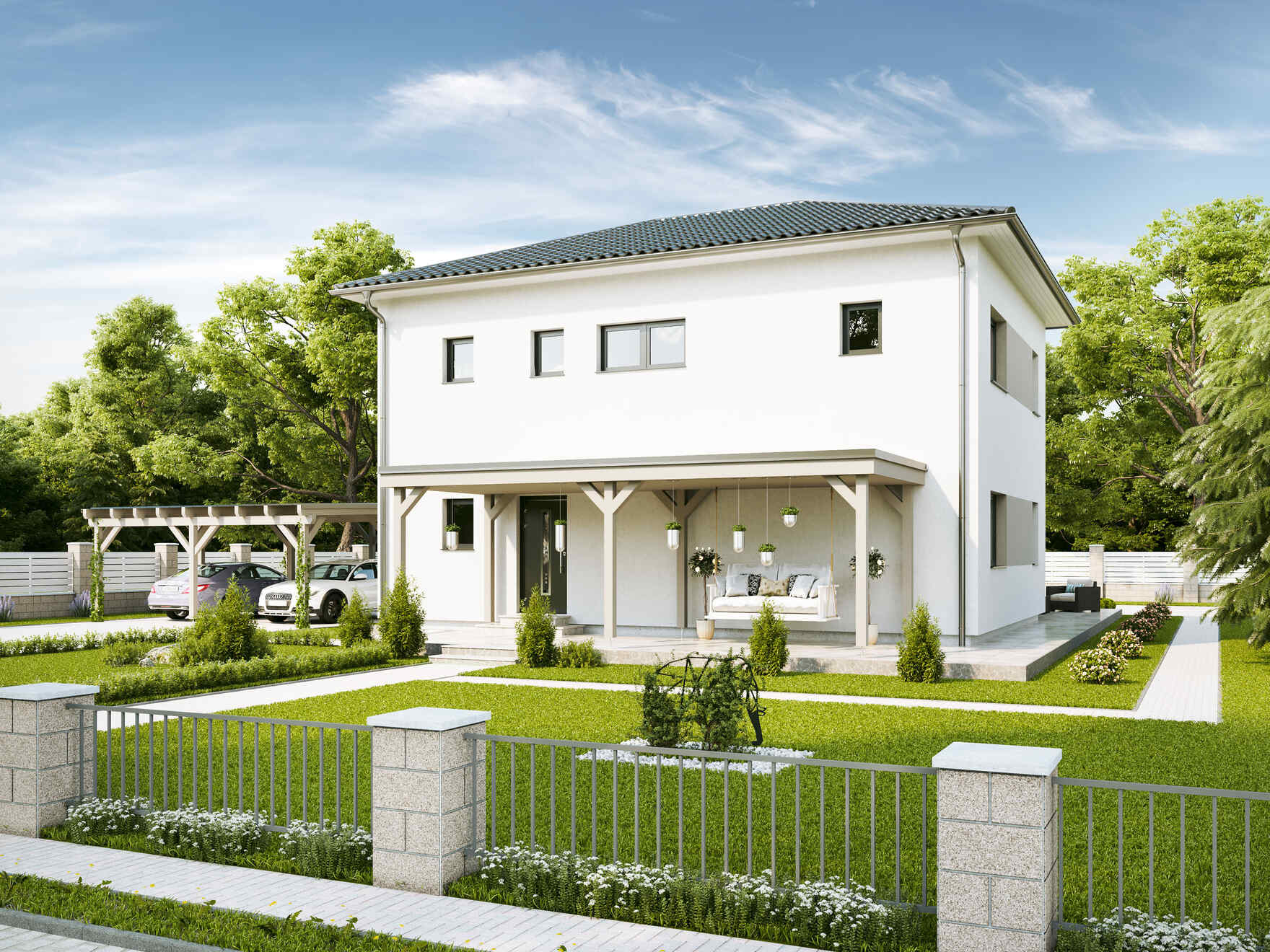 Prefabricated house Family Life